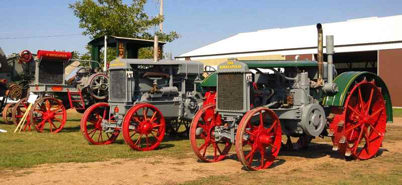 Minneapolis Threshing Machine Tractors