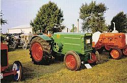 Oliver 99 and Allis Chalmers