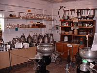 Milking machines and stools